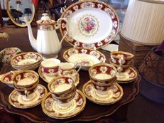 Nineteen piece Royal Albert tableware set Lady Hamilton