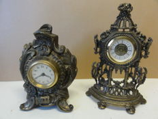 Two German Table Clocks – Period 1960s