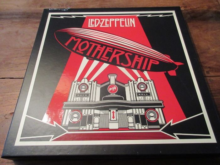Led Zeppelin Mothership 4 LP boxset