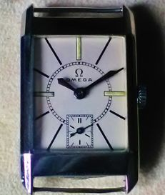 Omega - 7966124 - Men's - Vintage, circa 1930s, rare Omega 20F cal., English Staybrite steel
