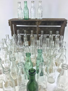 "50 bottles ""Martini & Rossi"" various models - 1950's decade"