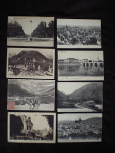 lot of approximately 880 postcards - early 20th century to 1960s - various France
