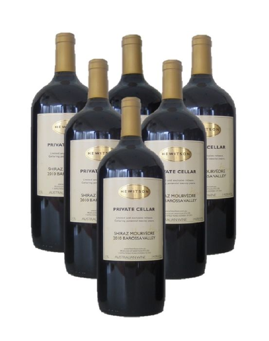 2010 Hewitson Private Cellar - Barossa Valley - 6 Magnums (1.5L)