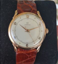 Omega 30t2 in solid 18kt rose gold - Men's timepiece from before 1944 - Extremely rare