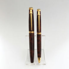 Caran d'Ache Geneve  – Fountain Pen and Ballpoint Pen ~ Very unique set