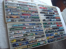 Collection - brewery trucks, advertising trucks, a few oldtimer trucks and single editions, in collector boxes, 81 items - 1997/2006
