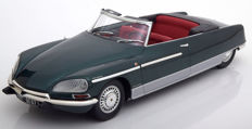 Norev Metal 18 - Scale  1-18 - Citroen DS21 Palm Beach 1968 - Colour Green Metallic