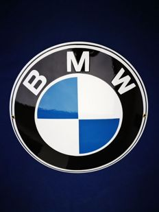 BMW enamel/emaille sign (30 cm)