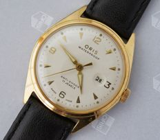 Oris - vintage Swiss men's wristwatch - 1960s