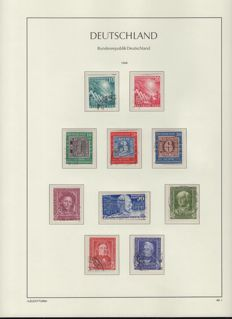 Federal Republic of Germany 1949 / 1997 – collection on album pages