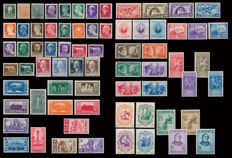 Italy, Kingdom, 1927-1942 – Lot of 13 complete series