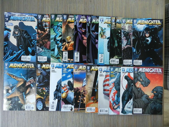 Wildstorm / DC Comics - Midnighter - Complete Set - Garth Ennis - 20x sc (2007/2008)