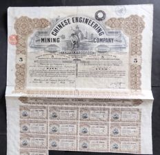 China / The Chinese Engineering And Mining Company Limited 1930
