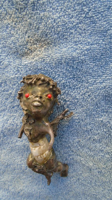 Scary little devil for witchcraft, CUBA,