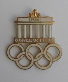Badge: Olympic Games 1936 Berlin