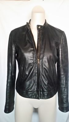Armani Jeans – women's leather jacket