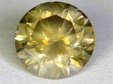 0.64 ct brilliant diamond with GIL certificate 'LOWEST RESERVE'