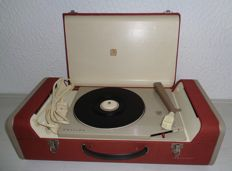 Philips Stereo record player AG4156/00 from 1961 (red edition)