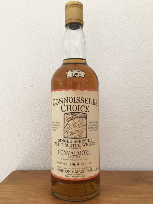 Convalmore 1969 bottled 1994 - G&M Connoisseurs Choice