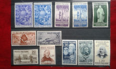 Italy, Republic, 1950 – year's complete series