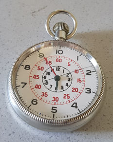18. ZENITH - observations pocket watch - large seconds - Switzerland 1940
