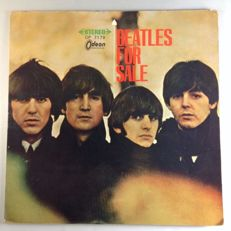 "Rare and special version of Beatles Album ""Beatles for Sale"", Odeon, OP 7179, Red vinyl."