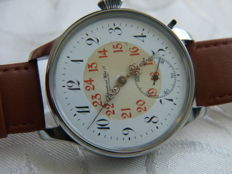 9. IWC Schaffhausen marriage men's wristwatch 1909-1910
