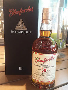 Glenfarclas 50 years old - Single Malt Whisky - OB - 41.1% Vol. 0,7L