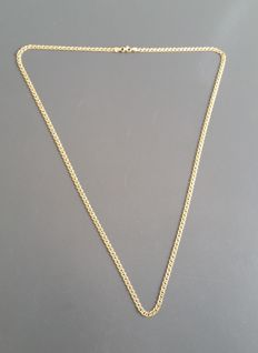 Necklace for men - 14 kt (585) - 66.5cm.