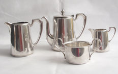 Antique Tea Set - Elkington & Co Sheffield England - Late 19th Century