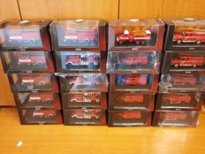 Atlas - Scale 1/72 - Lot with 20 models: 20 x Fire Engines