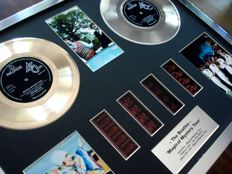 The Beatles - Magical Mystery Tour - stunning Gold & Platinum Plated Disc Film Cell presentation.