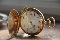 Longines grands prix 5 pocket watch— # 2566097 — 1901-1949