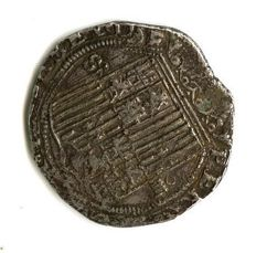 Spain– Catholic Monarchs (1474 – 1504) – 4 reales silver coin – Seville – Scarce