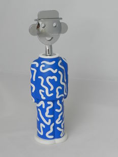 A. Mendini for Alessi -  Alessandro M 'Delft' corkscrew. Very rare numbered Limited Edition.