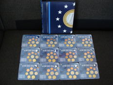 Europe - Year packs first 12 Euro countries (12 different sets).
