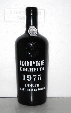 1975 Kopke Colheita Port - 1 bottle in Original Wooden case