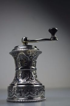 Silver pepper mill - Germany - early 20th century