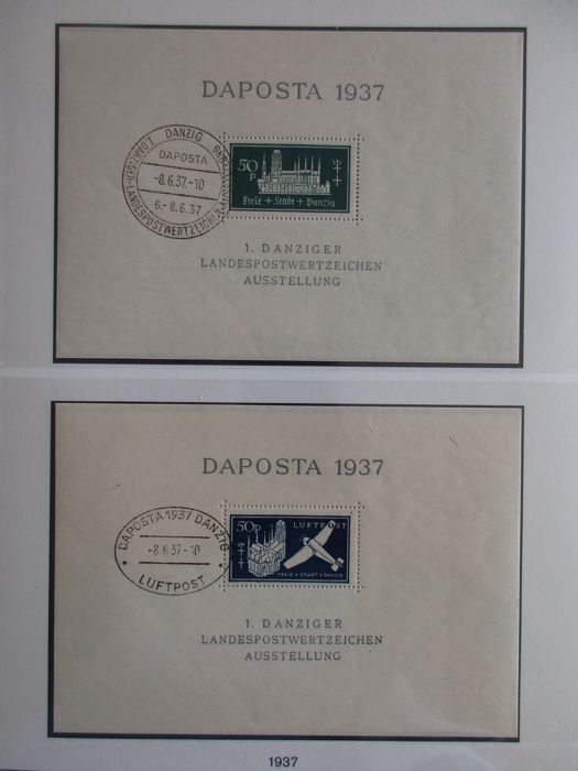 Danzig 1920/1939 – Collection in Lindner ringbinder
