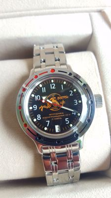 Vostok — Automatic Amphibian 200m Men's Divers watch-1990's in mint condition  (never worn)