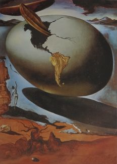 Salvador Dali (after) - Allegory of an American
