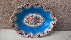 Longwy enamels MP Chevalier - fruit bowl