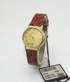 Mondia by Zenith - Women's watch in 750/1000 yellow gold, analogue, late 1990s, quartz, new.