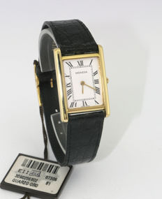 Zenith Mondia Watch – 750/°°° yellow gold – Unisex – 1990s – New condition with shop tag, box and unstamped guarantee