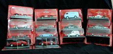 De Agostini - Scale 1/43 - Lot with 14 models: 12 x Alfa Romeo & 2 x Ferrari