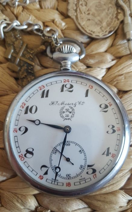 Henry.Moser & Cie pocket watch