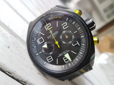 Fitzroy Black Steel  Chronograph
