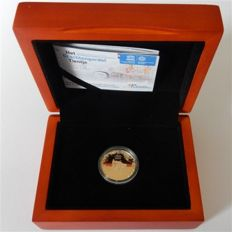 The Netherlands - 10 Euros 2012 'Ring of Canals' in coffer - gold