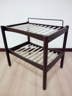 Vintage luggage rack, Italy, 1970s