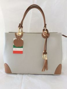 Bag - leather - made in FLORENCE/ITALY - New!!